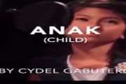 Cydel Gabutero (Classic version of ANAK) - ANAK - Freddie Aguilar - Cover By || Cydel Gabutero (Classic version of ANAK) Our pwiker 2014 champion... galing